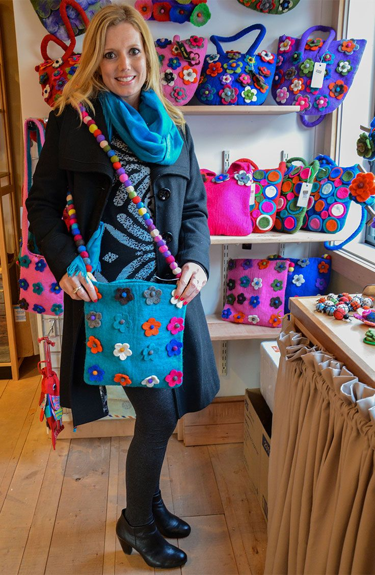 New in our #Gift Shop -  Vibrant #handbags in various sizes, texture and colours. Handcrafted in Nepal, they are a perfect way to add some colour to your look. Find them in our Gift Shop. #gibbstonvalley #queenstown