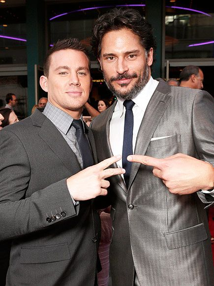Channing Tatum Is 'Blown Away' by Joe Manganiello's Dance Moves in Magic Mike XXL http://www.people.com/article/channing-tatum-joe-manganiello-blown-away-dance-moves-magic-mike-xxl