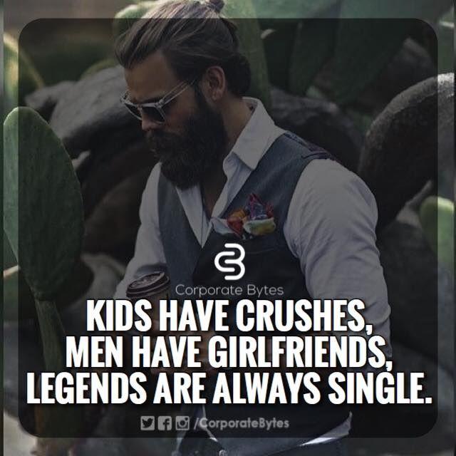 i m single  yes i am a legend