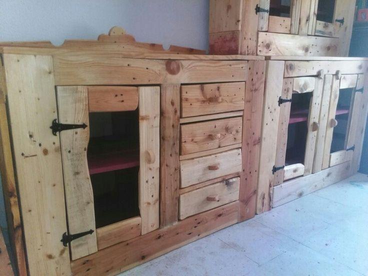 Mueble reciclado de pallets