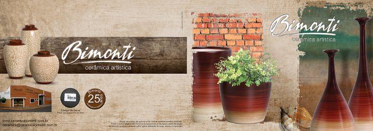 Capa de Catálogo Cliente Cerâmica Bimonti