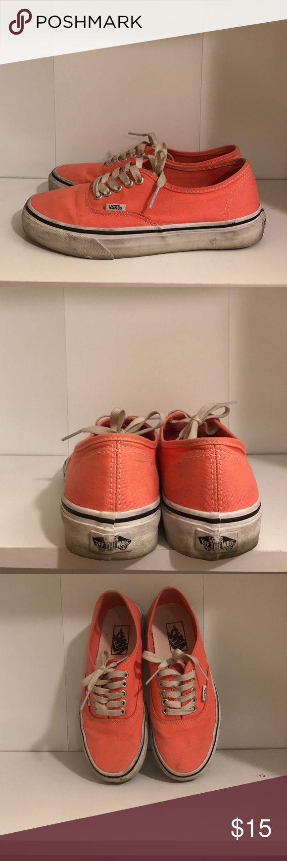 Coral Vans Coral Vans. Vans Shoes Sneakers