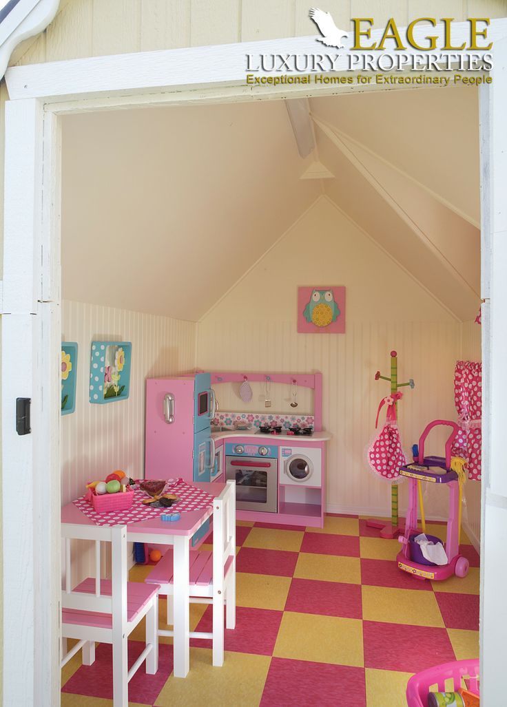 Outside child's playroom by Eagle Luxury Properties. #CustomHomes #HomeDesign #kids