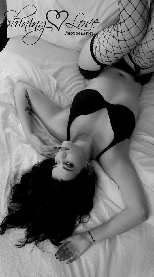 Sexy boudoir photo
