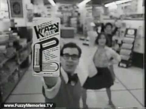 "Krazy Glue - ""Let Krazy Glue Do It!"" (Commercial, 1979) Here's a katchy kommercial for Krazy Glue featuring some krazy dancing.  Featuring a voiceover at the end by Ron Beattie mentioning you can buy it at the following stores:  True Value Hardware Walgreens Woolworth/Woolco Osco Drug Community Family Order From Horder  This aired on local Chicago TV in January 1979."