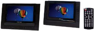 Craig 7-Inch TFT Dual Screen Portable DVD Player, Black (CTFT719) by Craig Electronics  http://www.60inchledtv.info/tvs-audio-video/portable-dvd-players/craig-7inch-tft-dual-screen-portable-dvd-player-black-ctft719-com/