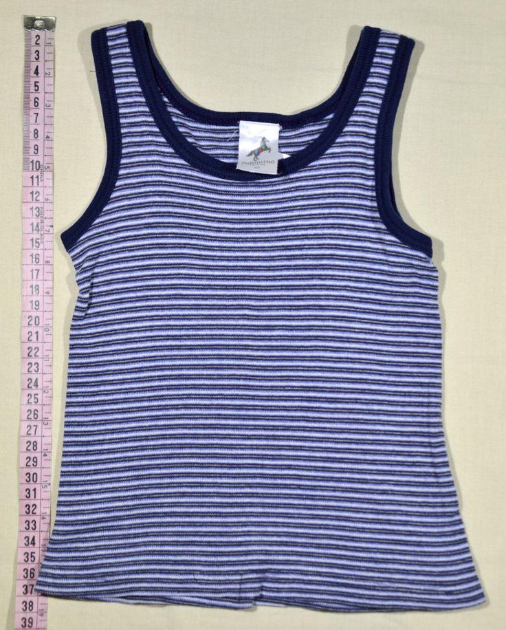 490 Ft. - Póló - kék-fehér csíkos, ujjatlan (C&A)