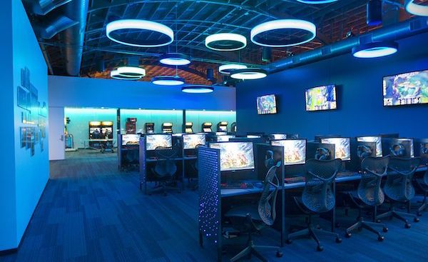 15 Video Game Companies Who Call Los Angeles Home Built In Los Angeles Game Cafe Cyber Cafe Game Room Design