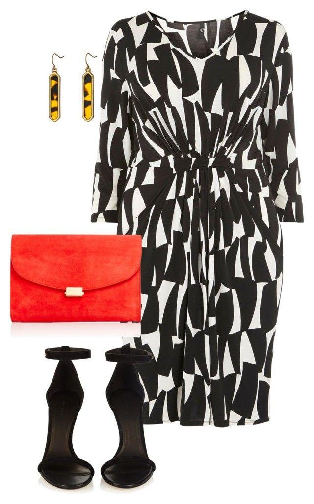 plus size dressy look by kristie-payne on Polyvore featuring Evans, Isabel Marant, Mansur Gavriel, Lauren Ralph Lauren, women's clothing, women's fashion, women, female, woman and misses
