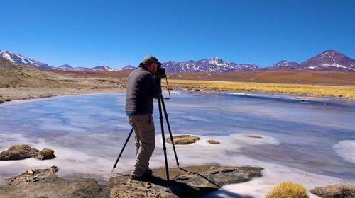 Behind the scenes with @petercoxphotography shooting the Chilean Atacama Desert with the new IQ3 100MP Trichromatic Digital Back. Read his story link in profile. #XF100MP #phaseonephoto #phaseone #proimaging #mediumformat #phaseonexf #trichromatic #IQtrichromatic #petercox #landscapephotography #landscape_captures #bestnatureshot #chile #atacamadesert #atacama #bts #behindthescenes #famousbtsmag via PhaseOne on Instagram - #photographer #photography #photo #instapic #instagram #photofreak…