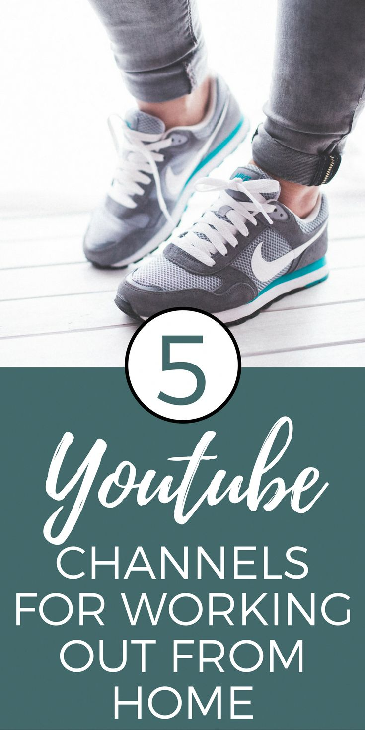 My 5 favorite youtube channels for working out at home