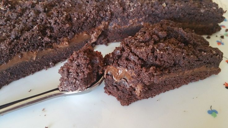 Nutella crumb cake