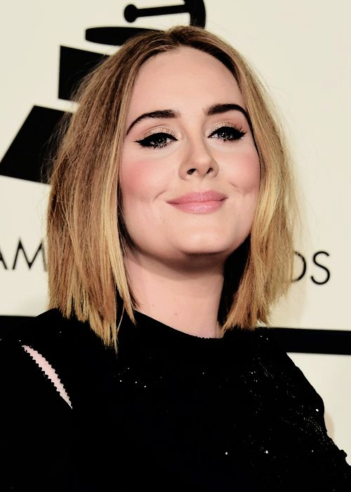 "katemids: ""  Adele at the 58th Annual Grammy Music Awards 