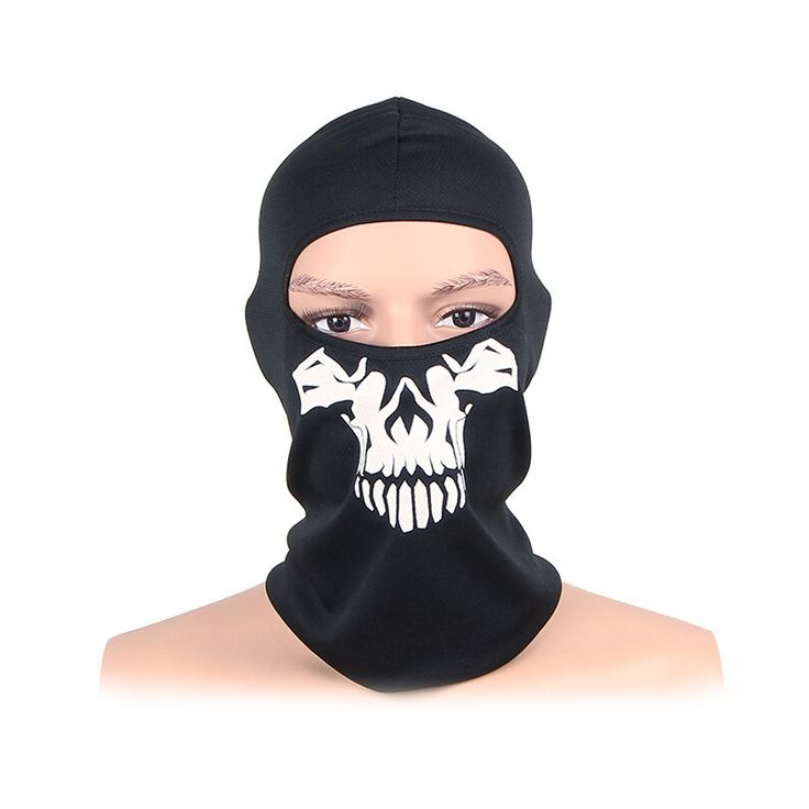 Winter New Arrival Tactical Sporting Cycling Outdoor tactics ghost Mask headgear seal skull mask warm wind riding hat