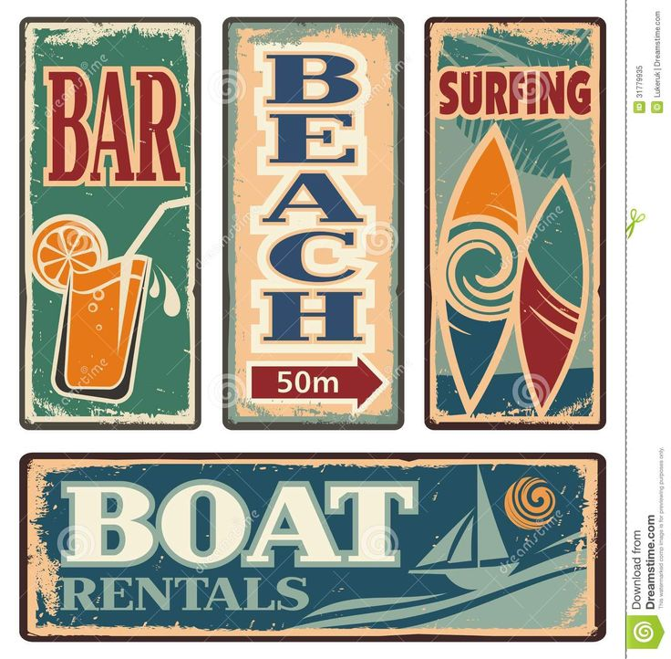 10 best posters images on pinterest design posters poster vintage summer holiday signs royalty free cliparts vectors and pronofoot35fo Gallery
