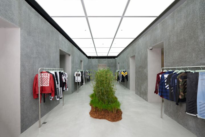 Off-White store by Family Singapore
