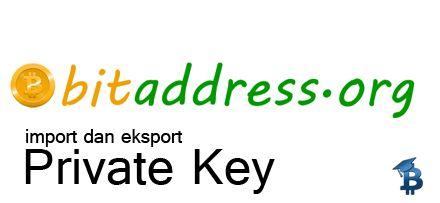 Cara Mudah Generate Private Key dan Public Key