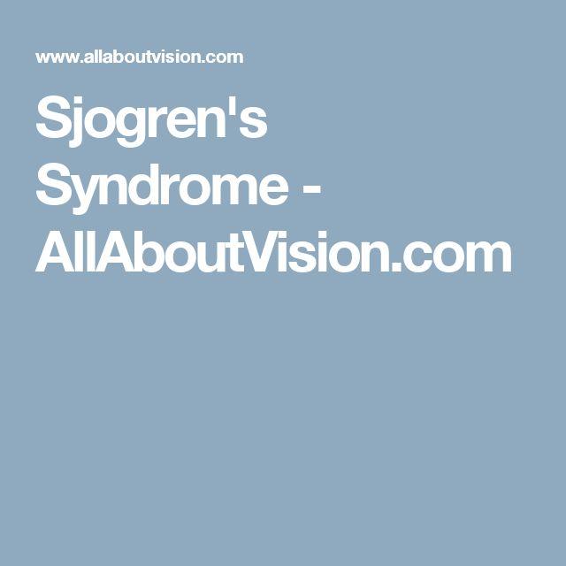 Sjogren's Syndrome - AllAboutVision.com