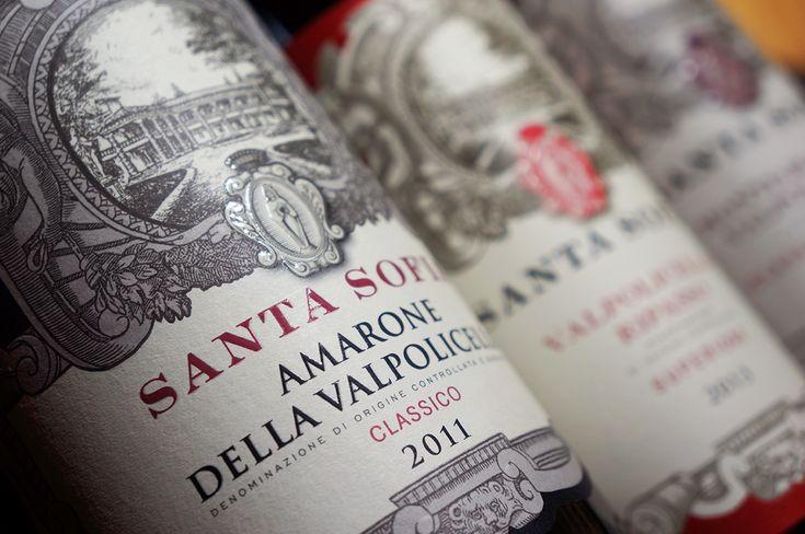 particolare-vino-valpolicella-santasofia design by Doni & Associati - Firenze