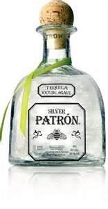 Getting my drink on Patron Silver Tequila ... when only the best will do :)