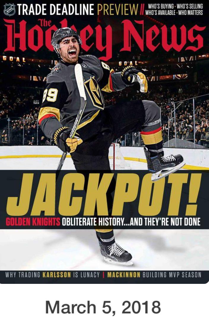 Vol 71 • No 12 | Golden Knights hockey | Vegas Golden Knights