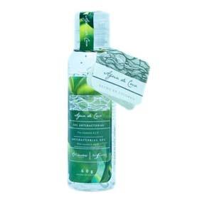 Sefora GEL ANTIBACTERIAL AROMAS CON PASION PASION AGUA COCO 60 ML Gel que límpialas manos sin utilizar agua y jabón. hidrata y suaviza las manos