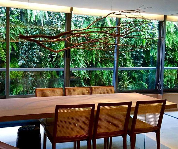 jardim vertical porto alegre:Jardim vertical l Vertical garden. Projeto By CREARE Paisagismo, Porto