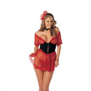 Disfraz de cabaretera. Compralo en www.erotica24h.com