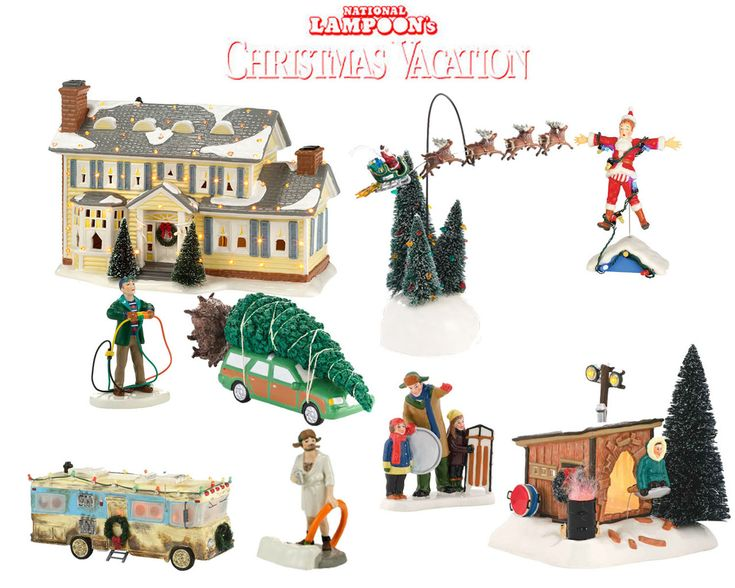 Department 56 National Lampoon's Christmas Vacation 9pc ...