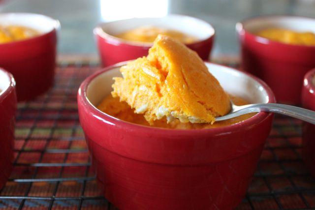 Savory Carrot Souffle (Souffle deZanahoria)