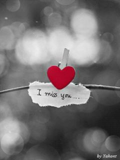 I miss you Mobile Screensavers available for free download.
