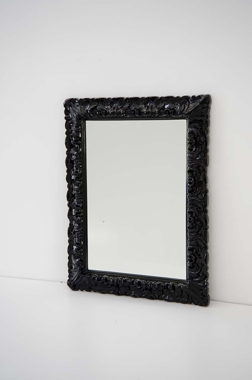 1000 images about artceram on pinterest mirror cabinets jazz and cow print - Specchio cornice nera ...
