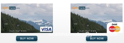 Misc-themed debit card. Visa or Mastercard gift card in any $ amount can be personalized by you. Photo by Paula Parks Fulford, aka SnailMailNotes & LoneStarLifer.