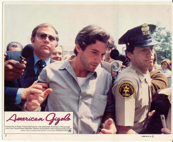 RICHARD GERE DAVID CRYER PRESS American Gigolo '80