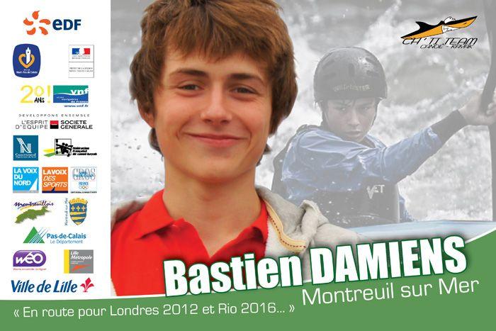 † Bastien Damiens (20) 06-09-2015 Franse kayakker.