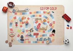 Summer+Olympics+-+'Go+for+Gold!'+Printable+Board+Game