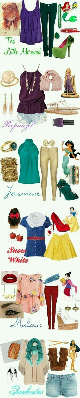 Moda de princess