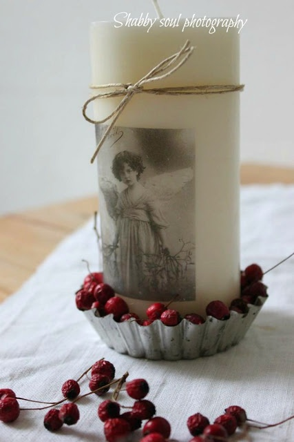 Captivating DIY Gift   Decorated Candles