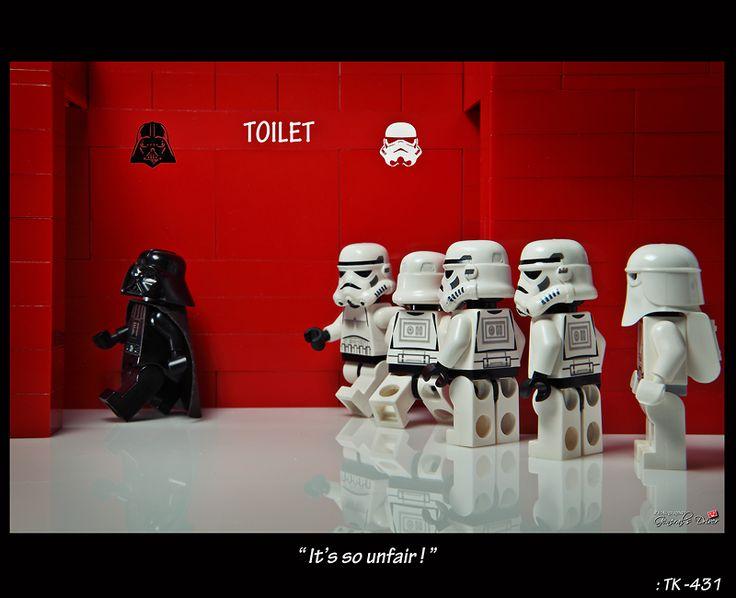 Toilet - Vader VS Stormtrooper