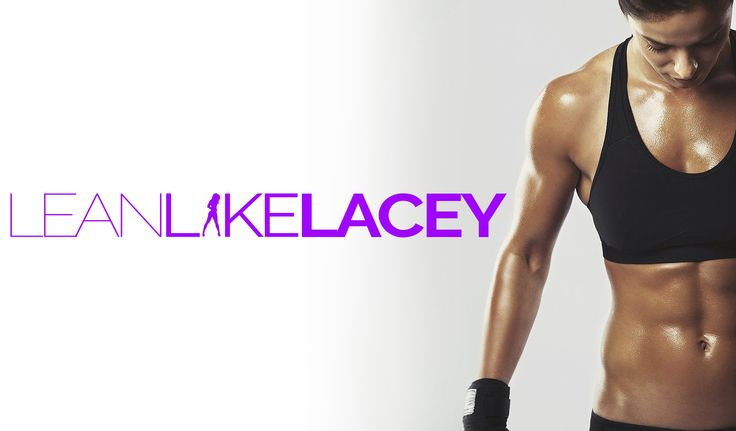 Logo design for Lean Like Lacey online coaching and fitness.