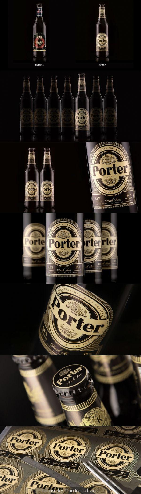 Porter Beer (Redesigned) by Fabula Branding