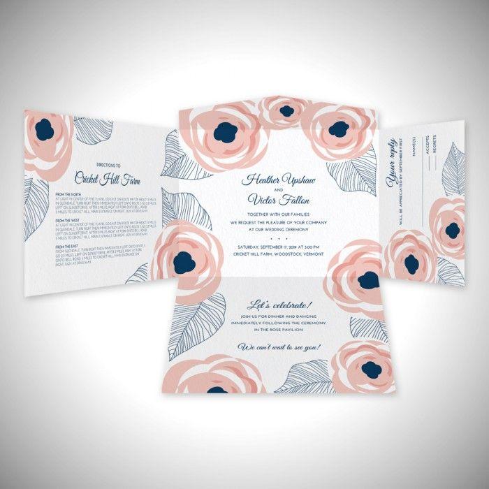 20 best eInvite Self Mailer Wedding Invitations images on ...