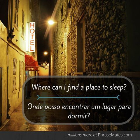 Keep this phrase in mind, asking local people for a place to sleep might be a good decision.