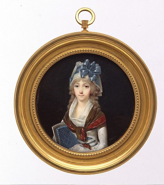 Portrait of a Woman, Jean-Baptiste Isabey, ca.1795