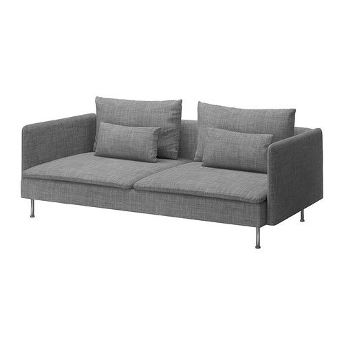 SÖDERHAMN Sofa-bed - Isunda grey - IKEA
