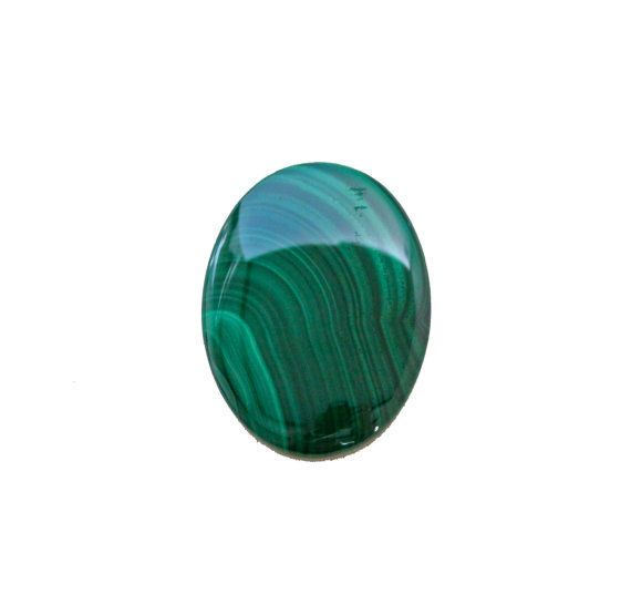 Malachite oval cabochon 77.60 carat by SARAHHUGHESfinegems on Etsy