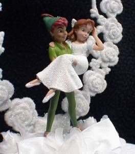 peter pan and wendy wedding cake topper 1000 ideas about pan disney on 18306