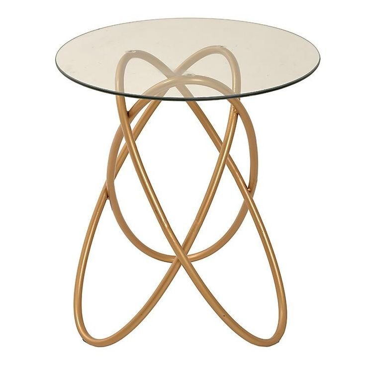 Metallic Coffee Table In Golden Color. This Modern Furniture, Will Make A  Great And Valuable Addition To Your Home.