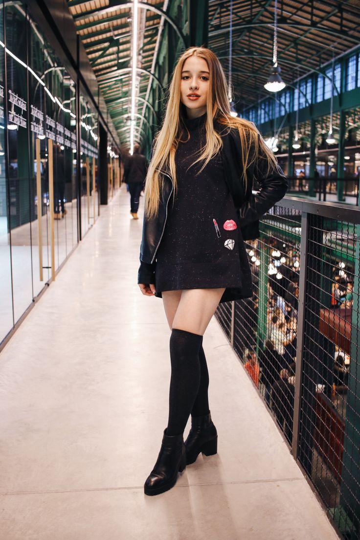 Beautiful Marta in #colorshake black dress