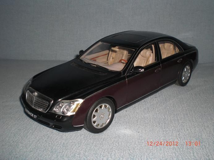 Maybach 57 1:18 Dealer Edition Autoart Diecast BROWN FREE SHIPPING! #AUTOART #Maybach